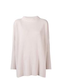 rosa Strick Oversize Pullover von Lorena Antoniazzi