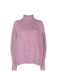 rosa Strick Rollkragenpullover von Isabel Marant