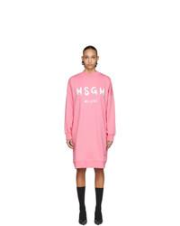 rosa Sweatkleid von MSGM