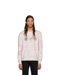 rosa Mit Batikmuster Sweatshirt von Versace