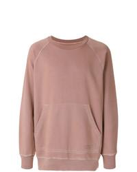 rosa Sweatshirt von Burberry