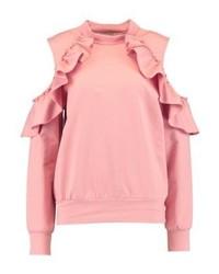 rosa Sweatshirt von Glamorous