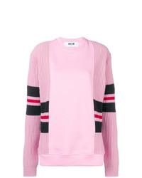 rosa Sweatshirt von MSGM