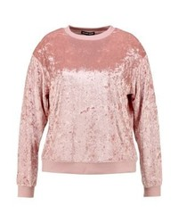 rosa Sweatshirt von Second Script Curve