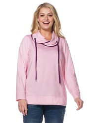 rosa Sweatshirt von SHEEGO CASUAL