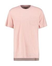 rosa T-Shirt mit einem Rundhalsausschnitt von YOURTURN