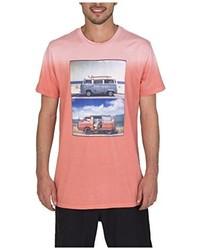 rosa T-shirt von Burton