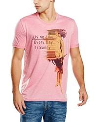 rosa T-shirt von GUESS