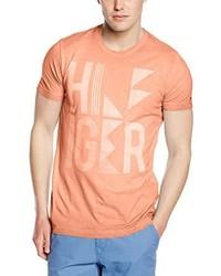 rosa T-shirt von Hilfiger Denim