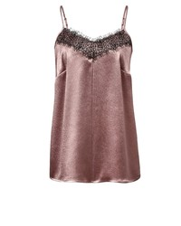 rosa Trägershirt von Angel of Style by Happy Size