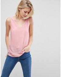 rosa Trägershirt von Asos