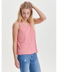 rosa Trägershirt von Only