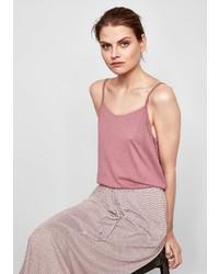 rosa Trägershirt von Q/S designed by