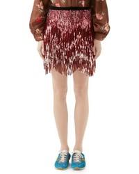rosa Tweed Minirock