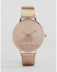 rosa Uhr von Aldo