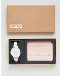 rosa Uhr von Asos