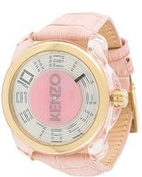 rosa Uhr von Kenzo