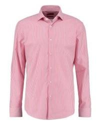 rosa vertikal gestreiftes Businesshemd von Hugo Boss