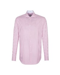 rosa vertikal gestreiftes Businesshemd von Jacques Britt