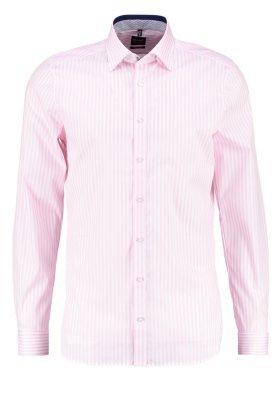 rosa vertikal gestreiftes Businesshemd von Olymp