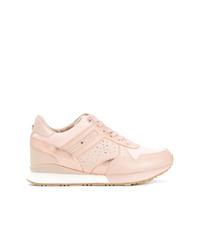 rosa verzierte niedrige Sneakers von Tommy Hilfiger