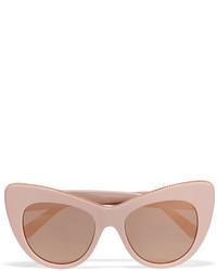 rosa verzierte Sonnenbrille von Stella McCartney