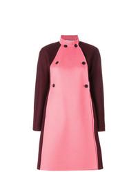 rosa verzierter Mantel von Valentino