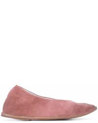 rosa Wildleder Ballerinas von Marsèll