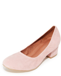 Rosa Wildleder Pumps von Jeffrey Campbell