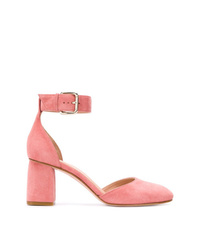 rosa Wildleder Pumps von RED Valentino