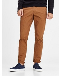rotbraune Chinohose von Jack & Jones