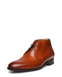 rotbraune Chukka-Stiefel aus Leder von SHOEPASSION
