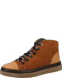 rotbraune hohe Sneakers aus Wildleder von Primigi