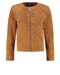 rotbraune Jacke von NATIVE YOUTH