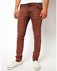 rotbraune Jeans