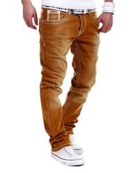 rotbraune Jeans von behype