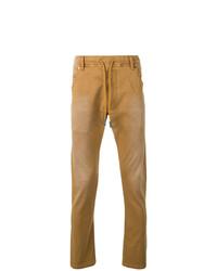 rotbraune Jeans von Diesel