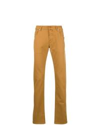 rotbraune Jeans von Jacob Cohen
