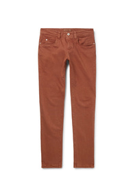 rotbraune Jeans von Loro Piana