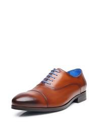 rotbraune Leder Oxford Schuhe von SHOEPASSION