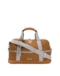 rotbraune Leder Reisetasche von Eastpak