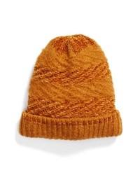 rotbraune Mütze