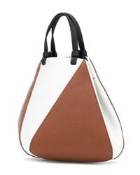 rotbraune Shopper Tasche aus Leder von The Volon