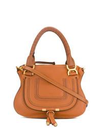 rotbraune Shopper Tasche aus Leder von Chloé