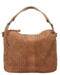rotbraune Shopper Tasche aus Leder von forty°