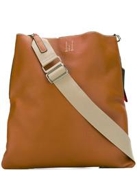 rotbraune Shopper Tasche aus Leder von Golden Goose Deluxe Brand