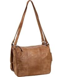 rotbraune Shopper Tasche aus Leder von Greenburry