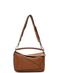 rotbraune Shopper Tasche aus Leder von Loewe