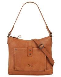 rotbraune Shopper Tasche aus Leder von Sansibar