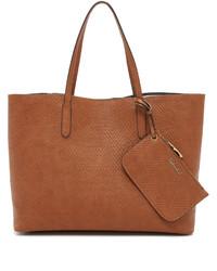 rotbraune Shopper Tasche aus Leder von Splendid
